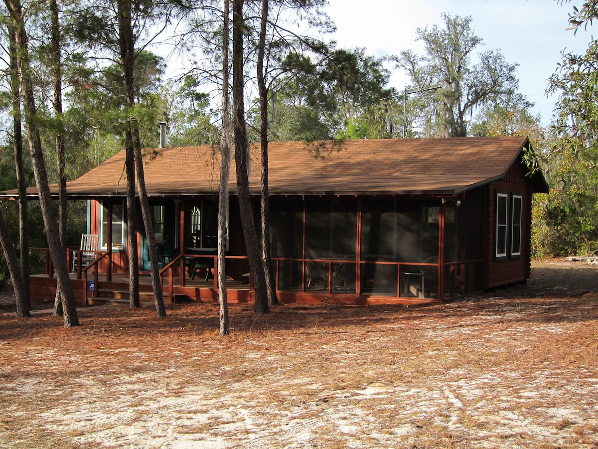 Cozy And Romantic Rustic Cabin   Cabins For Rent In Astor, Florida, United  States