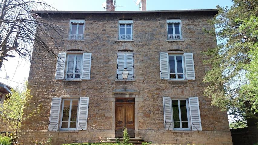 La maison au jardin - Saint-Germain-au-Mont-d'Or - Oda + Kahvaltı