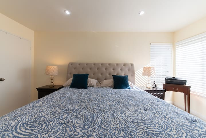 Master Bedroom Bed. Home Sweet Home.