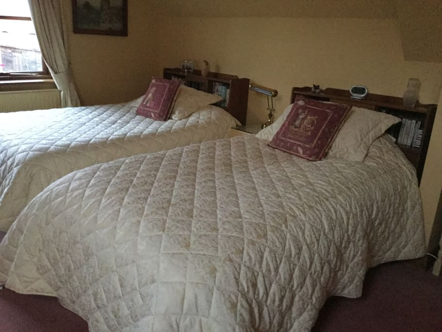 Two large beds!