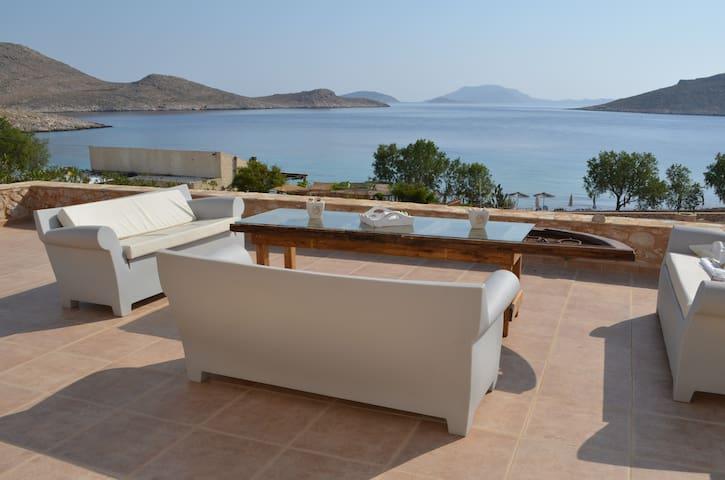 Villa Aristoteles beach front villa