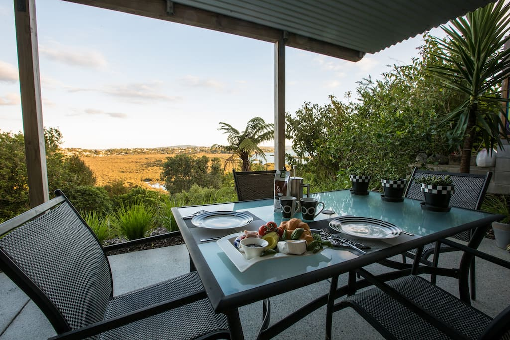 Enjoy meals in the privacy of your own terrace as you take in the expansive views.