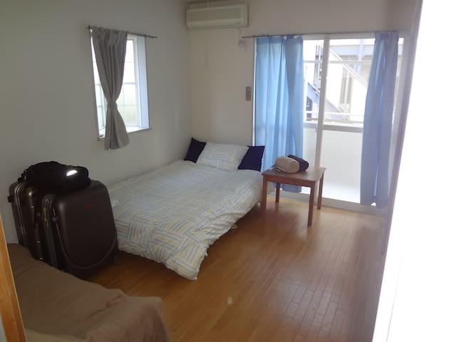Narita- 2min walk to station 15mins to the airport - Narita-shi - Apartamento