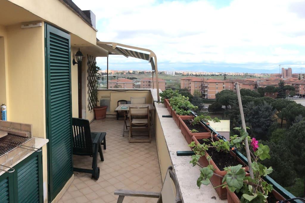 Vista panoramica dell'appartamento int.43 camera n.1