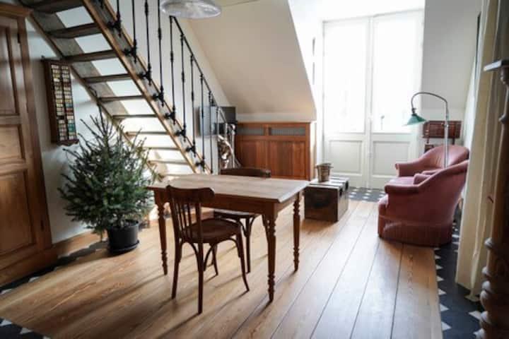 Appartement 2 in een gerestaureerde herenhoeve