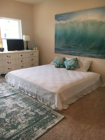 Peaceful Island Escape - Private Entrance,KING bed