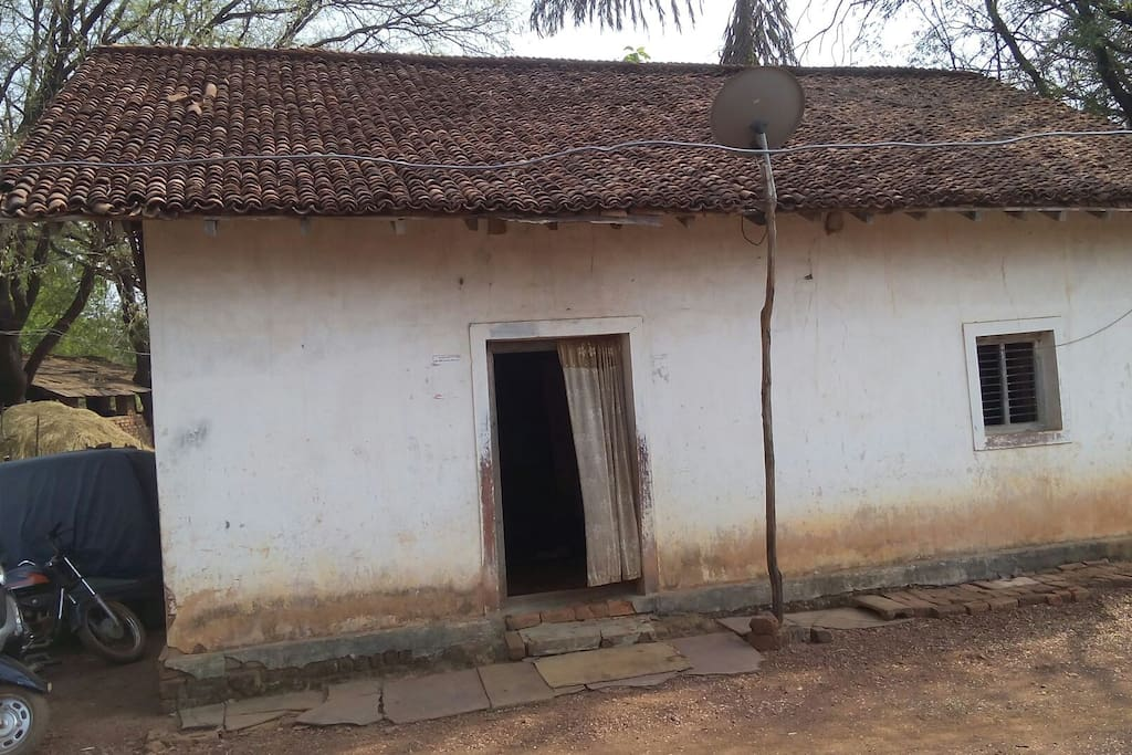 Its My traditional Bricks House