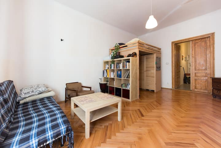 Cosy flat in Podgórze in Cracow