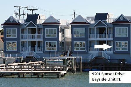 Beautiful Bayfront Stone Harbor Condo