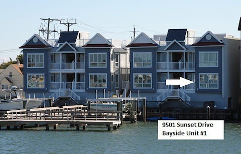 Beautiful Bayfront Stone Harbor Condo