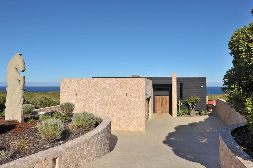 Stunning ocean views from this luxury home...