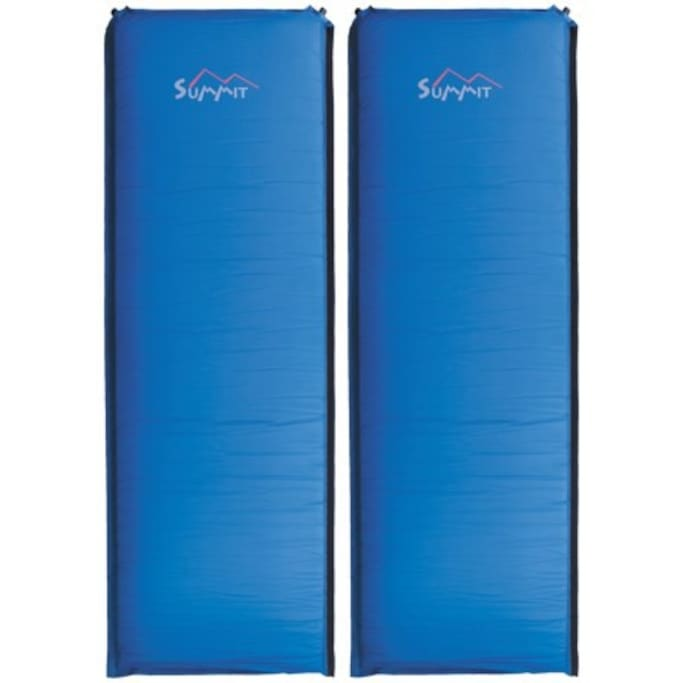 3-inch Summit Self Inflating sleeping pads.
