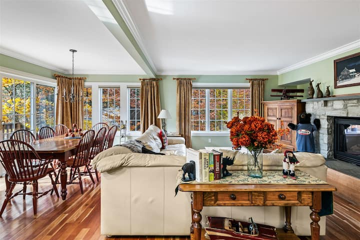 Luxury Home sleeps 8-10 at Topnotch Resort and Spa