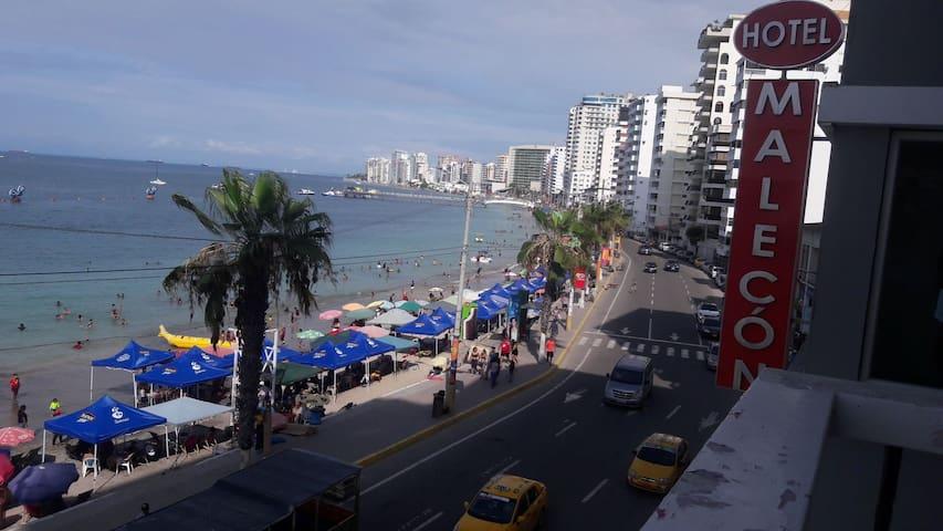Apartamento frente al mar excelente vista