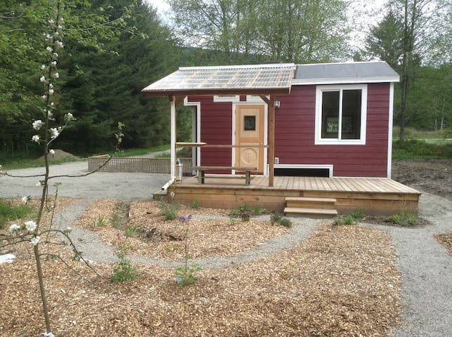 """La Casita"" a new Tiny House on our organic farm"