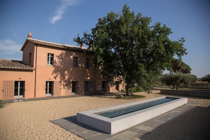 Tenuta di Paternostro - Master Fireplace Suite - Vetralla - Villa