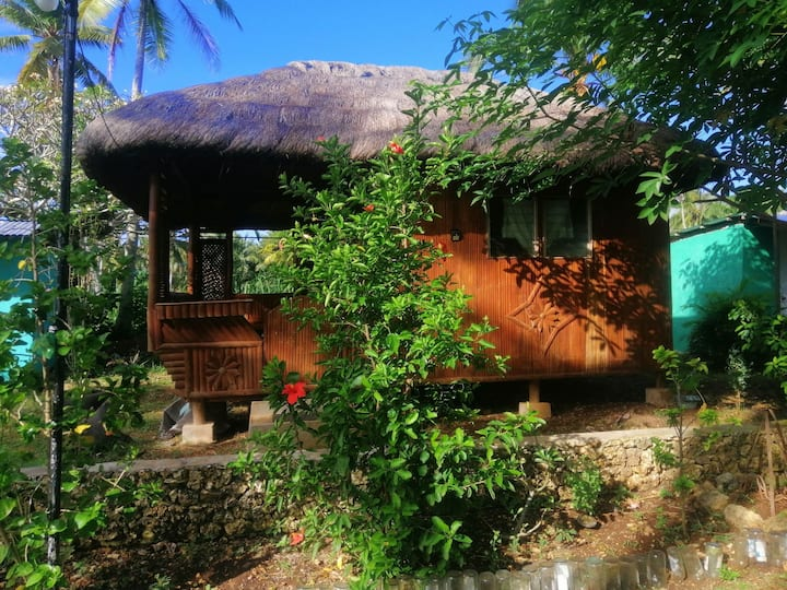 Harlyns bamboo huts. Suited for backpackers. Rural