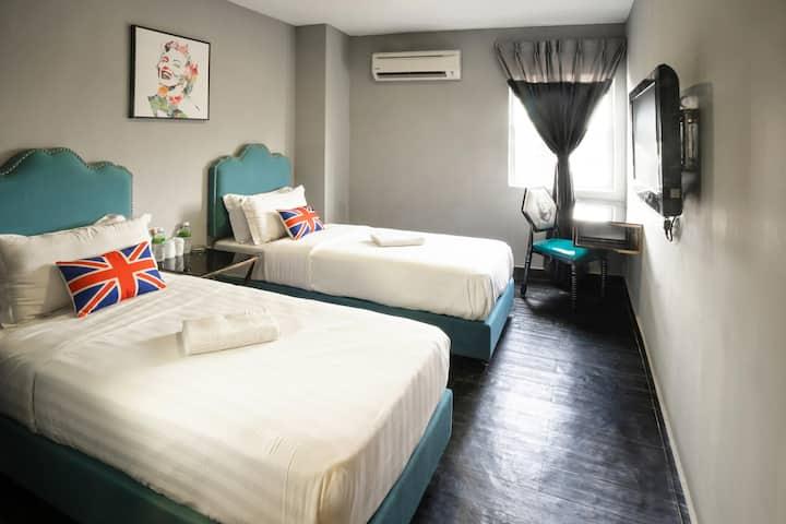 Deluxe Twin @ Johor Bahru by Artz Hotel