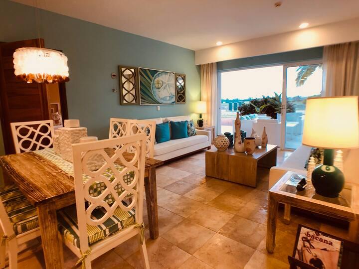 Exclusivo apartamento con vista al mar, Cap Cana.