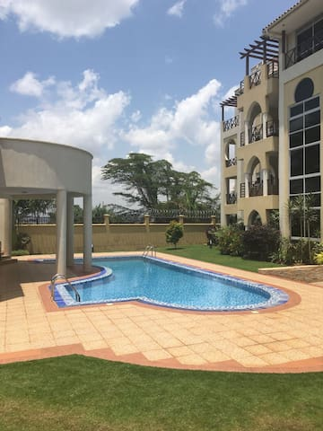 Lakefront Courts - at the shores of Lake Victoria - Kampala - Apartment