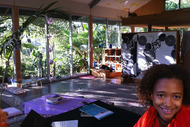 Rainforest Wellness retreat, glass Yoga studio - Maleny - Lodge immerso nella natura
