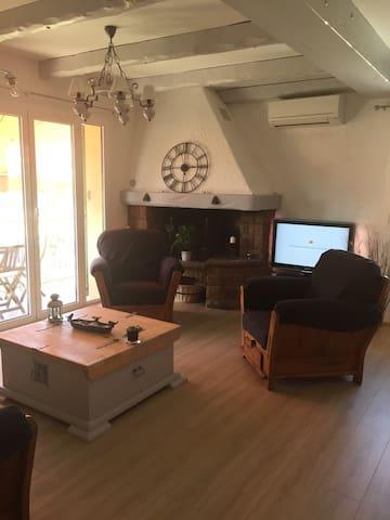 Appartement cosy aux portes de Nice Côte d'Azur - La Trinité - Departamento