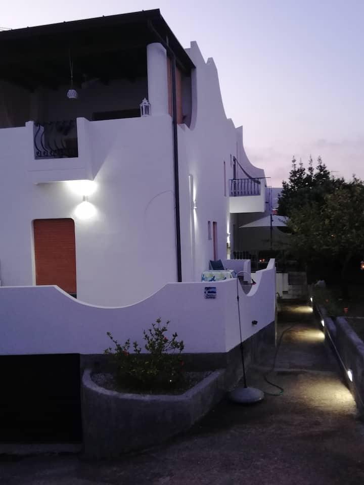 Un alloggio speciale al centro di Lipari