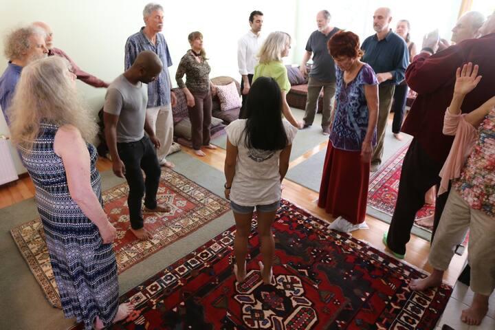 Osho Kundalini Meditation part 1