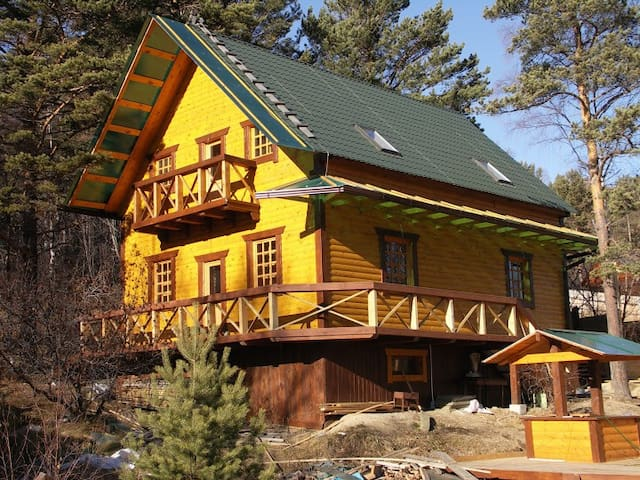 Belka Guesthouse - wooden cottage