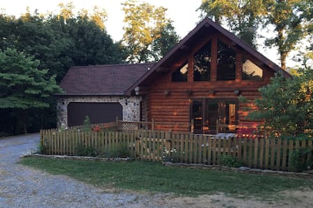 Serene log home at Murray Hill - Strasburg - Casa