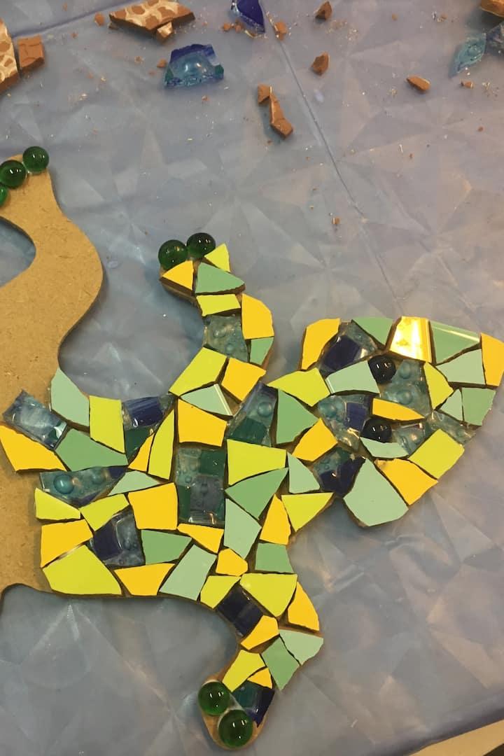 Create your personal Gaudí Salamander