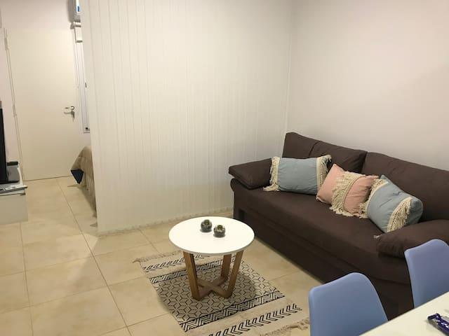 Pleno centro funcional premium con patio