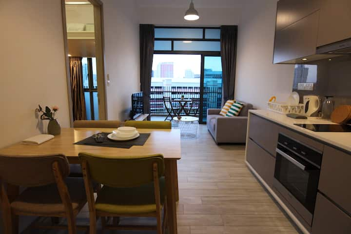 Gem of the West 1BR Loft 3 mins from Jurong East