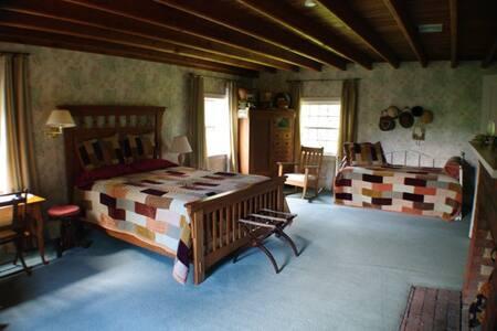 Rockgirt Historic Home - Queen Suite 1BR Sleeps 4 - Canton - Bed & Breakfast