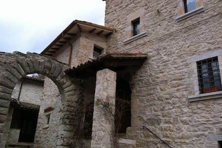 Casa in pietra indipendente - Ussita