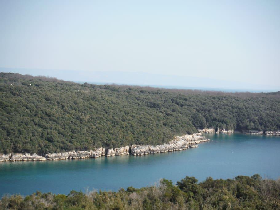 Duga Uvala - The long bay - View from the balcony