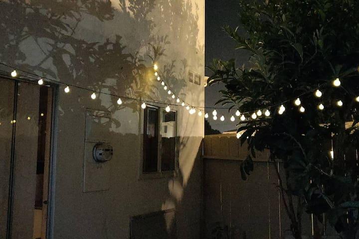 Outside Patio Lighting