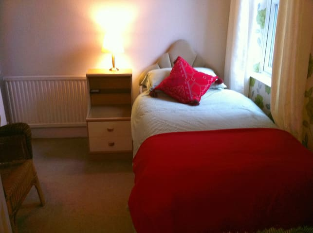 Pretty, Quiet Ensuite Single Room - Leicester - Dom