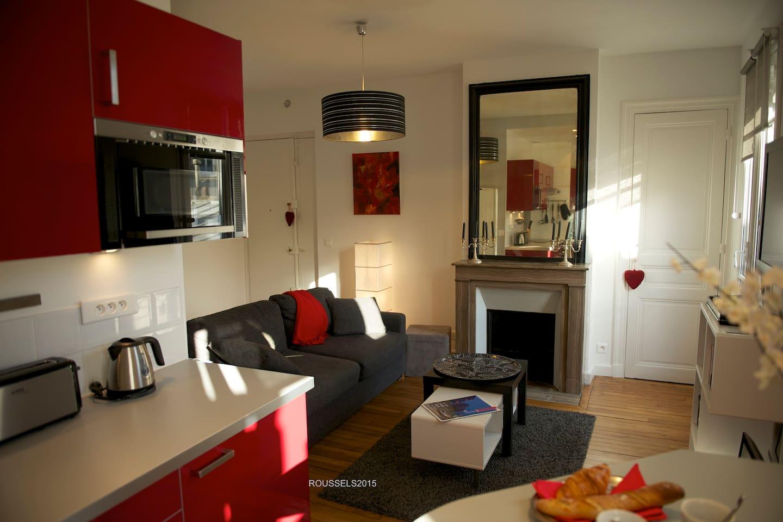 Cherche Midi - living-room