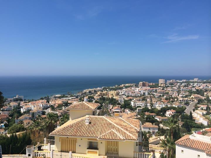 Amazing Sea Views over the Coast