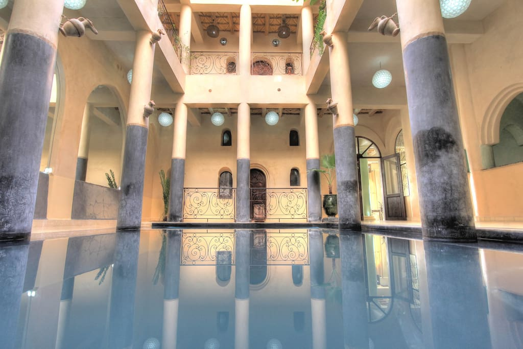 Kasbah titrit boutique hotels for rent in ouarzazate morocco - Airbnb piscine interieure ...
