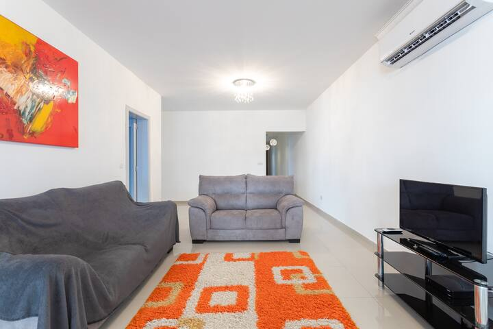 Modern apartment near the airport.
