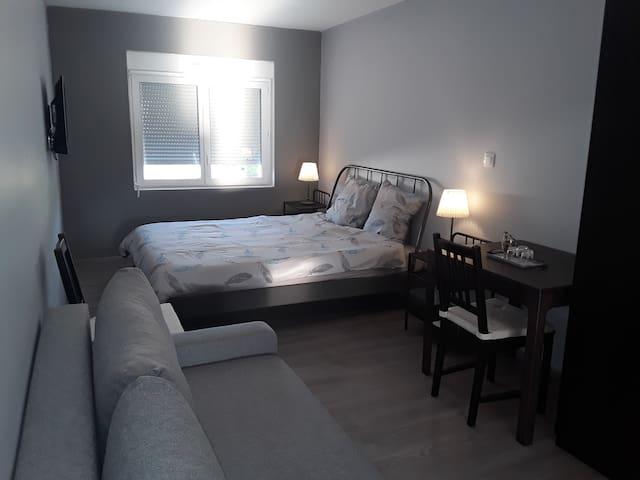 Appartement de 30 m² dans un village accueillant