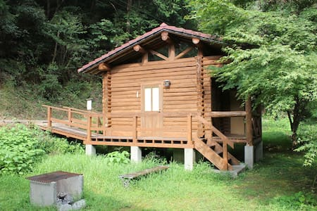 Nature Resort in Shimanto, Private cottage for 2