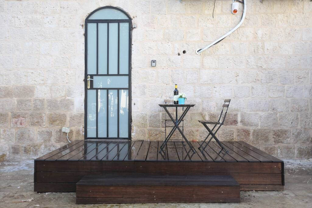 Our Cool Terrace!