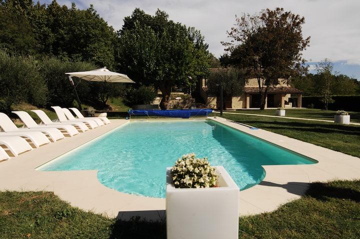 Villa Anna heated pool & SPA