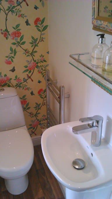 New en-suite shower room.