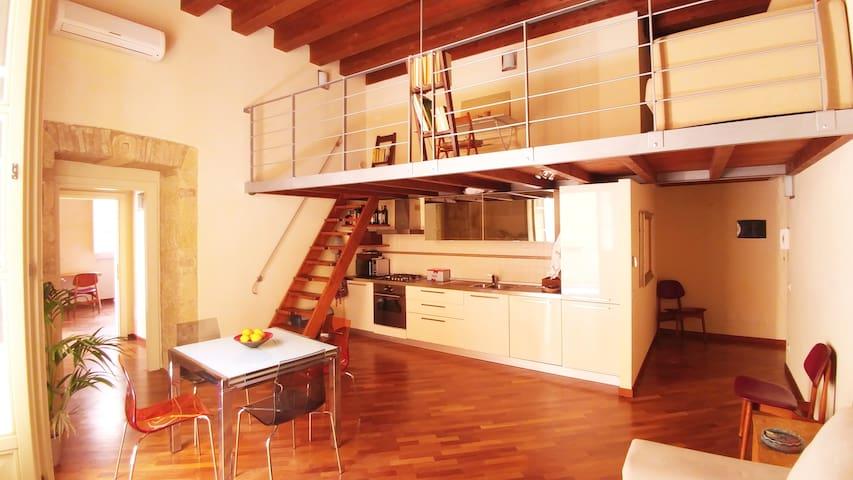 Cavallers Flat, camera soggiorno soppalco, 4 posti - Cagliari - Appartement