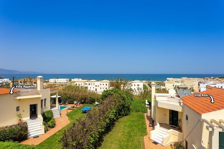 Pirgos villas, side by side villas w/heated pools