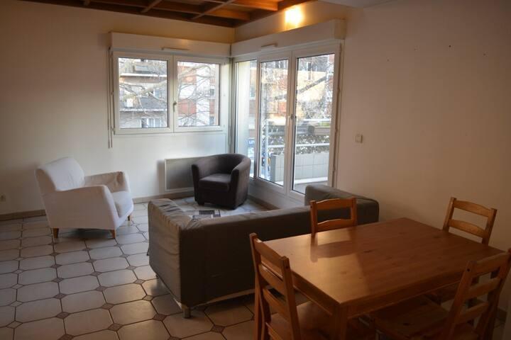 Comfort room in Duplex (north of Paris)